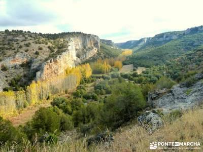 Hoces Río Riaza - Villa Ayllón; madeira trekking bola mundo